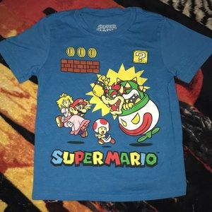 Super Mario 4T tee 💕